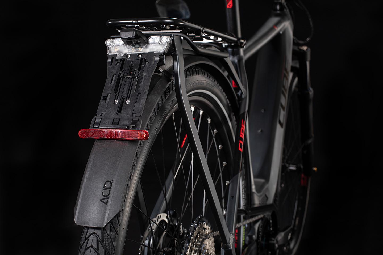 De e-bike biedt ondersteuning tot 45 km/u