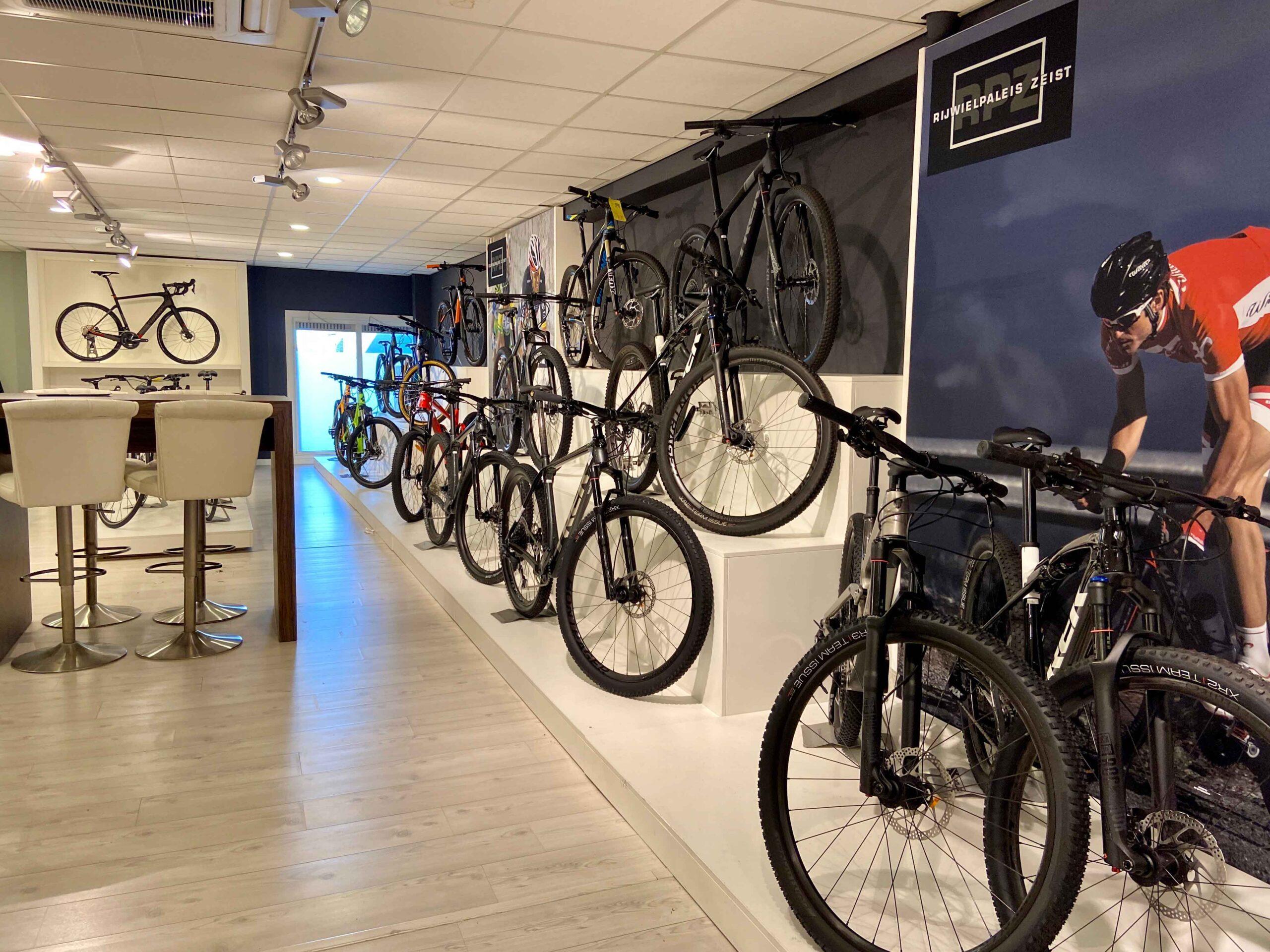 MTB fietsen bij het Rijwielpaleis